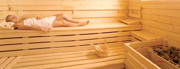 se relaxer dans son sauna
